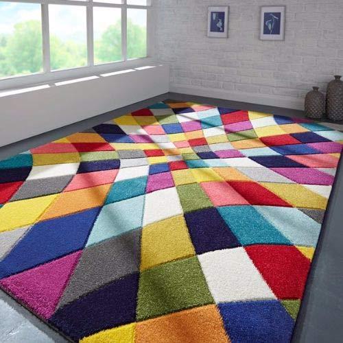 Flair Rugs Tappeto, Polipropilene, Multicolore, 80 cm x 150 cm