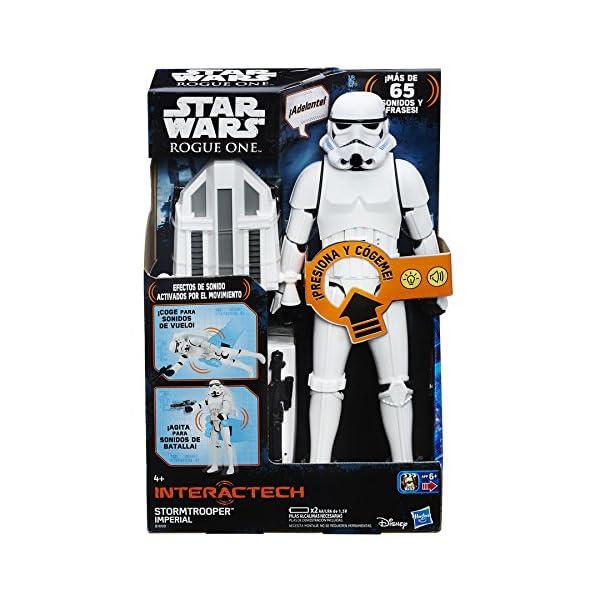 Star Wars Rogue One- Figura interactiva, 30 cm (Hasbro B7098105) 1