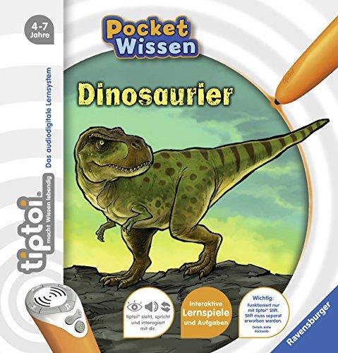 Ravensburger-tiptoi–Buch-4-7-Jahre-Pocket-Wissen-Dinosaurier-Kinder-Dino-Poster-Pocketwissen-tip-toi