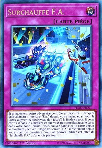 Clicandsell Neuf Carte YU-GI-Oh FLOD-FR091 Surchauffe F.A. Neuf Clicandsell FR B07ML4P1GD f414da