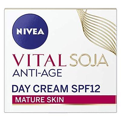 NIVEA Vital Soja Anti-Age Face Cream for Mature Skin, 50 ml