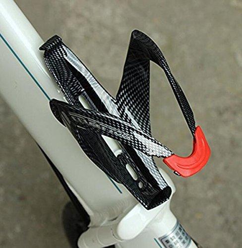 Fengh para bicicleta de montaña bicicleta de fibra de carbono patrón botella de agua soporte