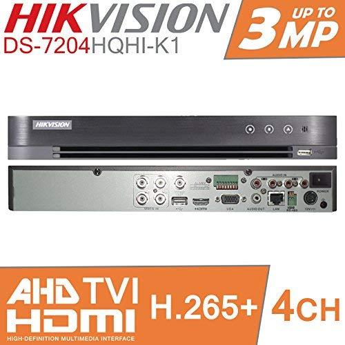 Hikvision Turbo HD DVR 4ch canal grabador vídeo