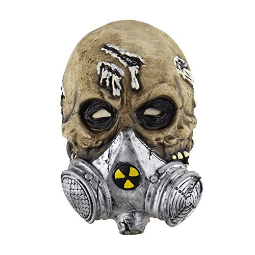 Fanfan Halloween Horror Máscara De Gas Bioquímica Máscara Set Máscara De Látex Máscara De Miedo