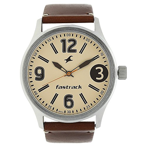 512iH%2BoezNL - 3001SL10 Fastrack Beige Boys watch