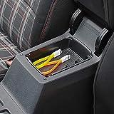 HERCHR Car armrest box storage box original position?Applicable to Volkswagen Golf 7/7.5 storage box partition.