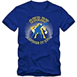 Stephen Curry Spice #1 T-Shirt NBA Herren GSW Basketball, Farbe:Blau (Royalblue L190);Größe:M