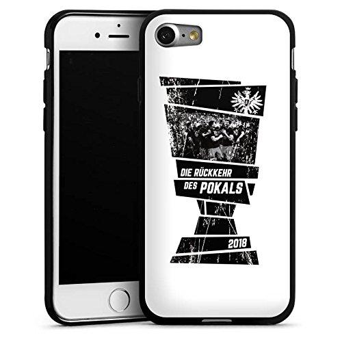 DeinDesign Apple iPhone 7 Silikon Hülle Case Schutzhülle Eintracht Frankfurt Adler Pokal Finale