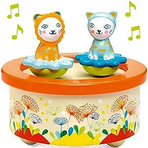 Djeco  - Caja de música Twins Melody