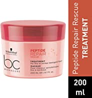 Schwarzkopf Professional Bc Peptide Repair Rescue Treatment, Red, 200 ml