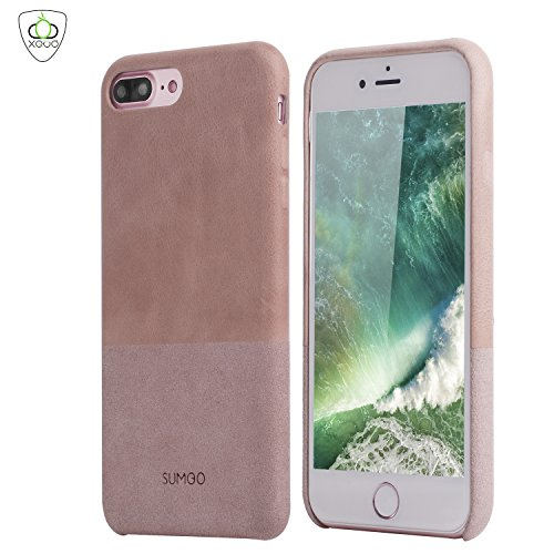sumgor-apple-iphone-7-plus-hulle-echt-leder-wildleder-schutzhulle-hard-cover-back-case-tasche-in-ros