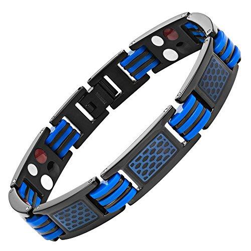 willis-judd-mens-in-titanio-con-chiusura-magnetica-colore-blu-lunghezza-4-elementi-e-gomma-con-motiv