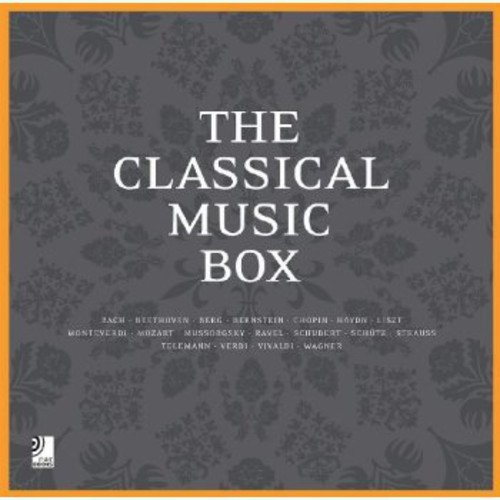 The Classical Music Box (+ 8 CD's) (Ear books)