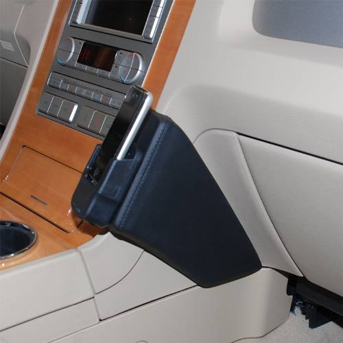kuda-consola-de-telefono-para-lincoln-navigator-2007-usa-mobilia-piel-sintetica-color-negro
