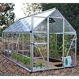 Serre de jardin en polycarbonate Hybrid 6,84 m² Hybrid6x12_4 - longueur : 3m70