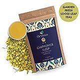 Octavius Chamomile Sleep Loose Leaf tea-100 GMS (50 Cups) | Superior Loose Leaf