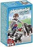 Playmobil - 5214 - Jeu de Construction - Famille de Bouviers Bernois