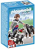 Playmobil - Perros de montaña con cachorro (5214)