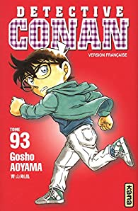 Détective Conan, tome 93 par Gôshô Aoyama