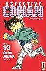 Détective Conan, tome 93 par Aoyama