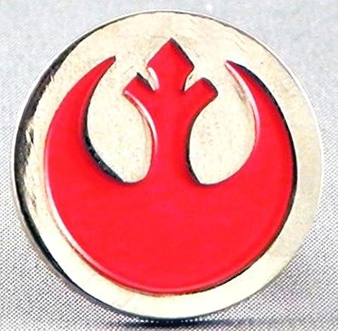 Metal Enamel Pin Badge Brooch Star Wars Rebel Alliance Insignia