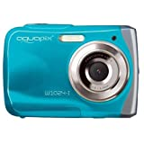 Easypix Aquapix W1024 - Cámara compacta digital (10 MP, 2.4', zoom digital 4x, VGA), color azul