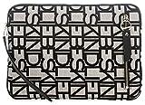 Liebeskind Berlin Damen Jaemeliw8 Jacqua Laptop Tasche, Schwarz (Black), 2.0x44.0x22.0 cm