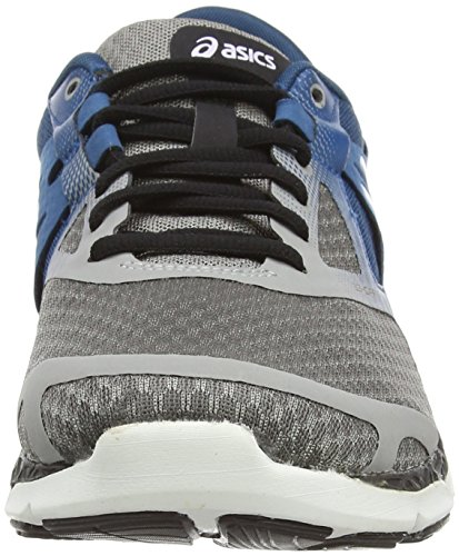 Asics 33-dfa, Chaussures de Running Entrainement Homme Gris (Taupe/Cloud White/Mosaic Blue 1298)