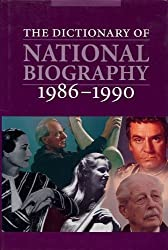 Dictionary of National Biography, 1986-1990... With an Index covering the years 1901-1990