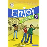 English in 5e Enjoy : Palier 1 - 2e année (1CD audio)