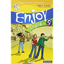 Enjoy English in 5e : Palier 1 - 2e année (1CD audio)