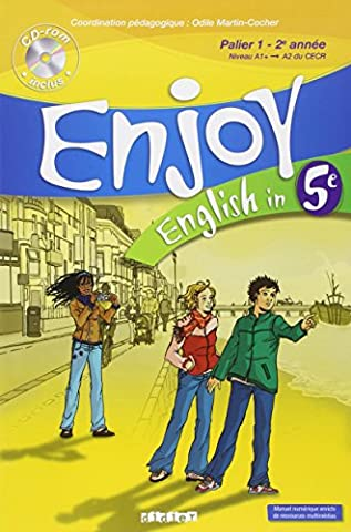 Enjoy English - Enjoy English in 5e : Palier 1