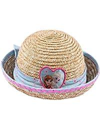Disney El reino del hielo Chicas sombrero de paja - marrón