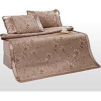 Preisvergleich für Coole Matratze Dreiteilige Matten können gefaltet werden Sommermatten Sommer Sommer Matten Matten Farbe 1,8m Bett (6 Fuß) Coole Bambusmatte ( größe : 1.8m bed )