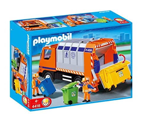 Playmobil Camion Benne - Playmobil - 4418 - Camion Recyclage