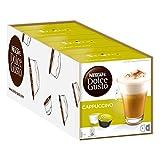 Nescafé Dolce Gusto Cappuccino, Milchkaffee, Kaffeekapsel, Kaffee, 48 Kapseln (24 Portionen)