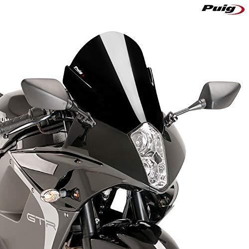 Puig 6716 N Racing écran pour Hyosung Gt650 IR 13 '-17', Noir