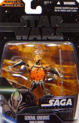 Hasbro Star Wars Saga U.S.Exclusivo Demise of General Grievous