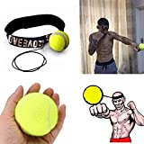 Yellow : Training Boxing Boxing Ball,Malloom Fight Ball With Head Band For Reflex Speed Training Boxing Boxing Punch Exercise