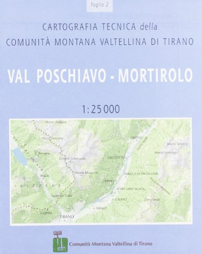Cartografia tecnica della comunità montana di Tirano: 2