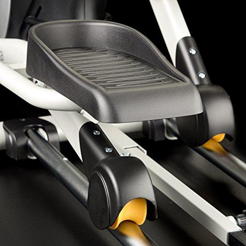 Skandika Crosstrainer CardioCross Carbon Pro SF-3200, 23,5 kg Schwungmasse, wartungsarmes Bremssytem über Magnettechnologie, Transportrollen, Kalorienverbrauch, Zeit und und Pulsmessung - 7