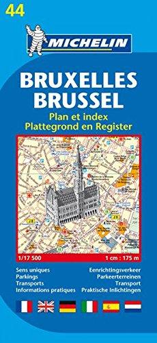 Brussels Plan (Michelin City Plans)