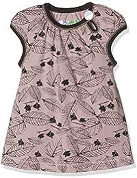Phister & Philina Baby Girls' Basin Leaf Kleid Bio-Baumwolle Dress
