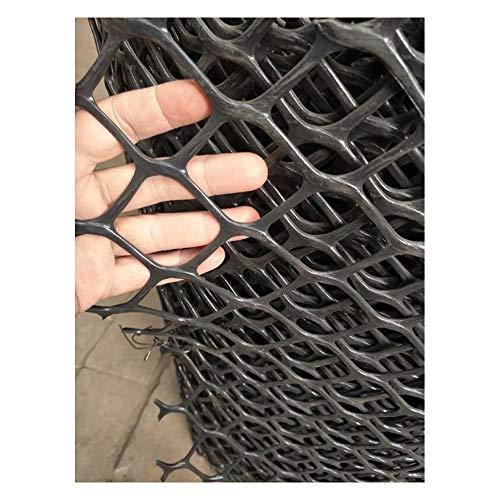 MLM slpw Kunststoffnetz Gartennetz Maschengewebe Kunststoffzaun Beetschutz Schutznetz Baumnetz Höhe Taubenschutznetz Taubenabwehrnetz Taubennetz Vogelabwehr,Schwarz, Mesh: 5 cm, 1 x 2m