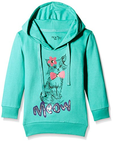 Palm Tree Baby Girls' Jacket (132072668870 1354_Green_12-18 Months)