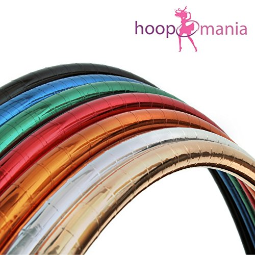 Zirkus Hula Hoop, metallic Farben, Ø 90cm, Kupfer - Hula-hoop Glitter