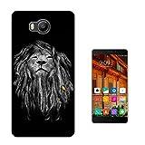 137 - Jamaican Rasta Lion Design Elephone P9000 Lite
