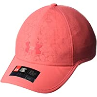Under Armour UA Driver Cap 2.0 Gorra, Mujer, Rojo (714), One Size
