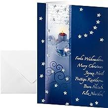 Suchergebnis auf f r weihnachtskarten din a5 gr e - Weihnachtskarten amazon ...