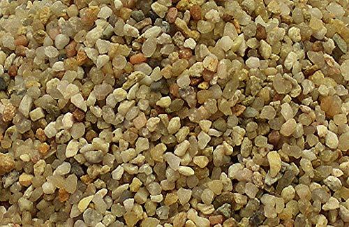 25 kg Aquariumsand Aquariumkies natur beige gerundet und feuergetrocknet (1,4 - 2,2mm)